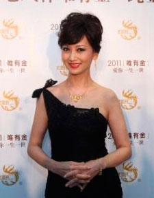 Актриса Чжа Ячжи